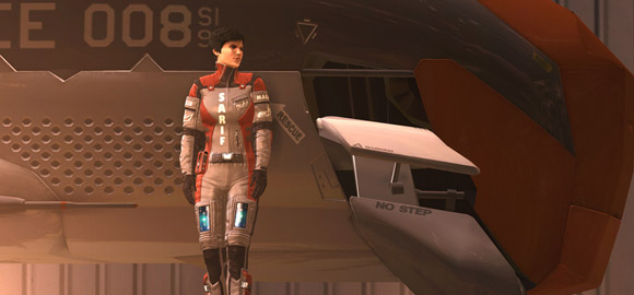 Deus Ex: Human Revolution (screen courtesy of DeadEndThrills.com)
