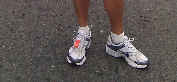 Terry Majamaki at the San Francisco Marathon 5k Start