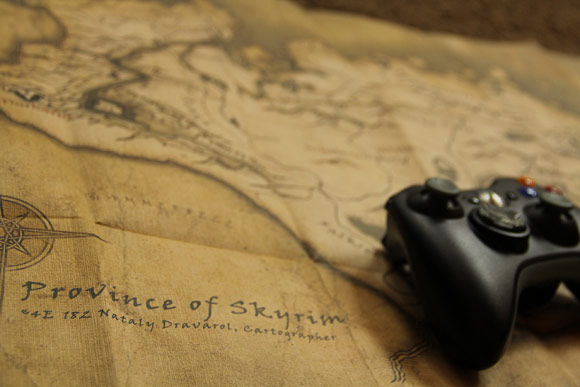 Province of Skyrim Map Closeup