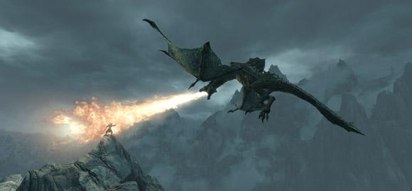 The Elder Scrolls V: Skyrim Dragon Firefight