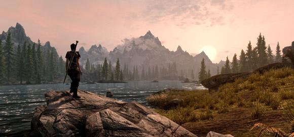 The Elder Scrolls V: Skyrim Sunset
