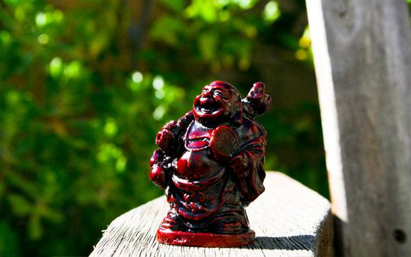 Drinking Buddha
