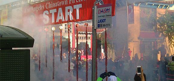 100,000 Firecrackers @ Start Line