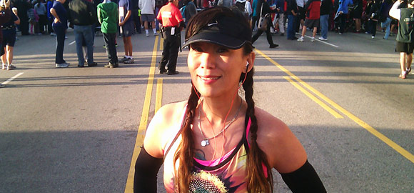 Jenny Majamaki @ 34th Annual Firecracker Run in L.A. Chinatown
