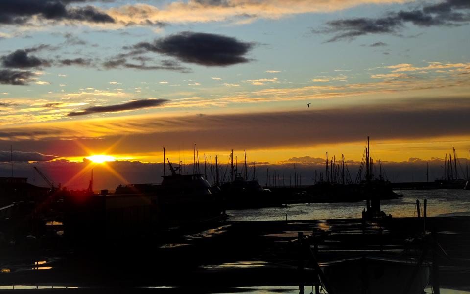 Santa Barbara Marina Sunrise