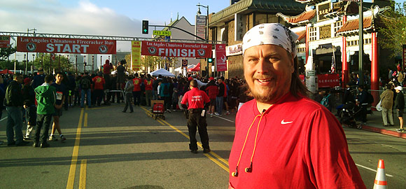 Terry Majamaki @ 34th Annual Firecracker Run in L.A. Chinatown