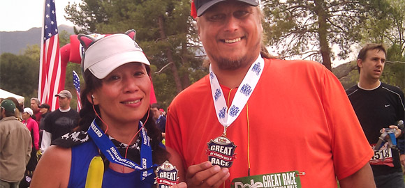 Jenny & Terry at The Great Race of Agoura Hills