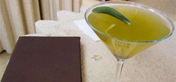 Pineapple Sage Cocktail