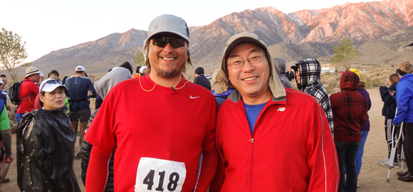 Terry and Jerry at Wild Wild West Start Line