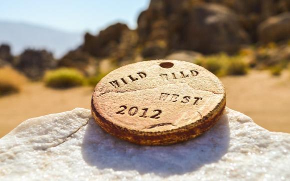 Wild Wild West Marathon Medal v2