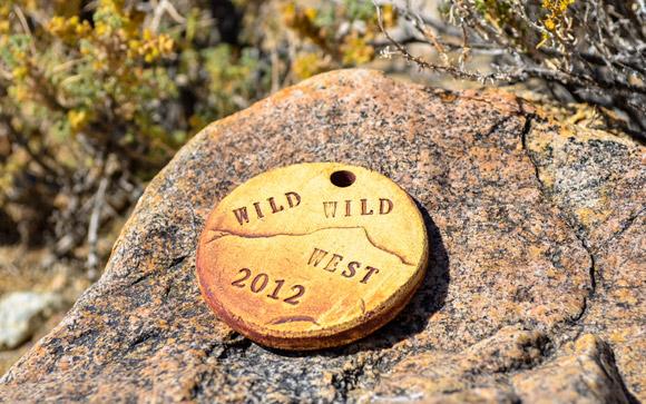 Wild Wild West Marathon Medal v1