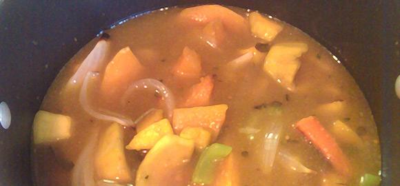Roasted Squash Soup Broth