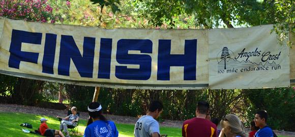 Angeles Crest 100 Mile Endurance Run Finish Line