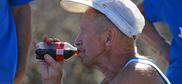 Refueling with Coke