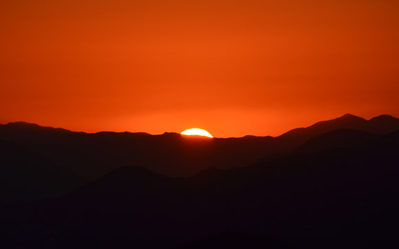 Angeles Sunset Red