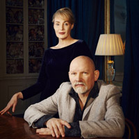 Lisa Gerrard and Brendan Perry of Dead Can Dance