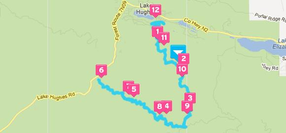Leona Valley Trail Race Half Marathon Course
