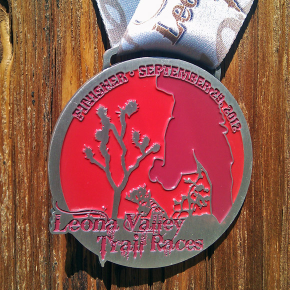 Leona Valley Trail Race medal