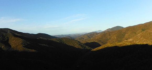 View from Leona Valley Trail Race