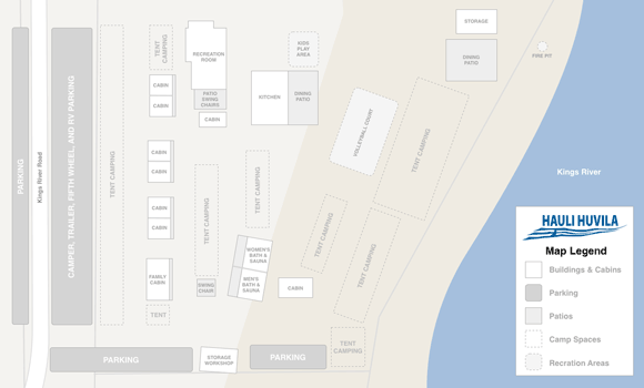 Map of Hauli Huvila