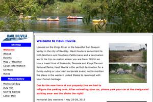 Old Hauli Huvila Website