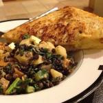 Lentil and Kale Veggie Salad