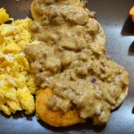 Vegetarian Biscuits and Cauliflower Gravy
