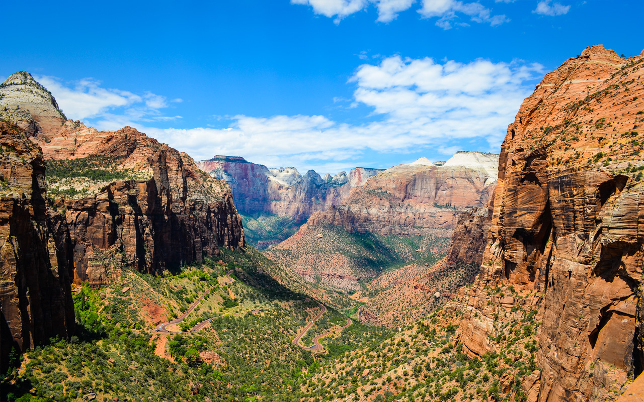 Zion Canyon Wallpaper Wallpapers Mhytic