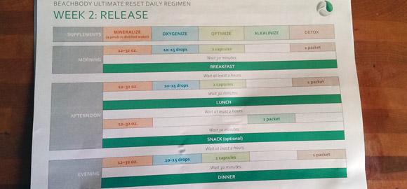 Ultimate Reset Week 2: Release