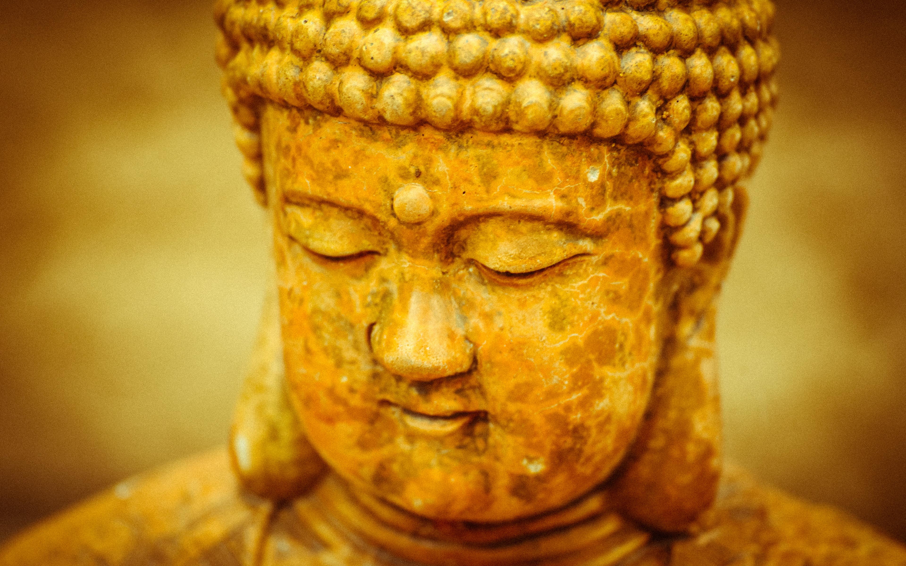 Weathered Buddha Wallpaper Photograph By Terry Majamaki