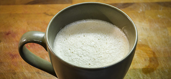 The perfect cup of buttered coffee